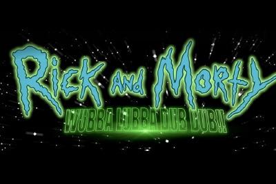 Rick & Morty Wubba Lubba Dub Dub Slot Logo