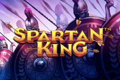 Spartan King Slot Logo