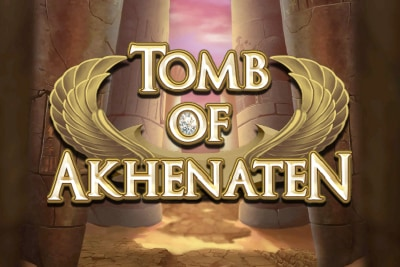 Tomb of Akhenaten Mobile Slot Logo