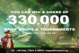 Win Real Cash Prizes & Daily Drops Through To 2021