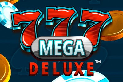 777 Mega Deluxe Mobile Slot Logo