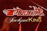 7s Deluxe Jackpot King Mobile Slot Logo