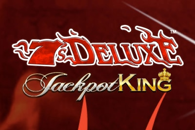 7s Deluxe Jackpot King Mobile Slot Logo