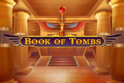Book of Tombs Mobile Slot Logo