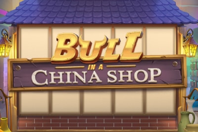 Bull In A China Shop Slot Logo