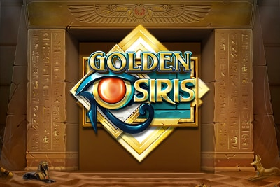 Golden Osiris Mobile Slot Logo