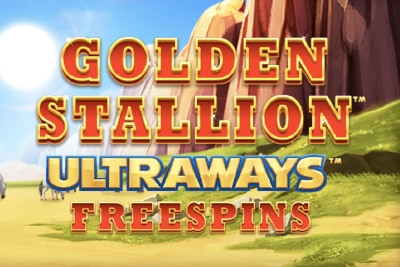 Golden Stallion Mobile Slot Logo