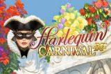 Harlequin Carnival Mobile Slot Logo