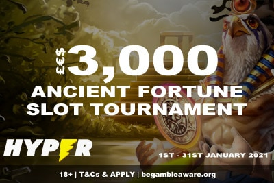 Enter The 3K Hyper Casino Slot Tournament Jan 2021