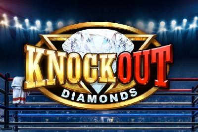 Knockout Diamonds Mobile Slot Logo