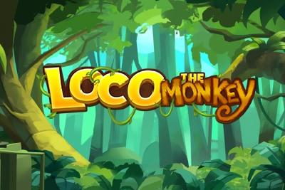 Quickspin Loco The Monkey Mobile Slot Logo