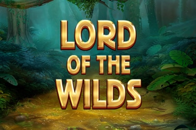 Red Tiger Lord of the Wilds Slot Logo