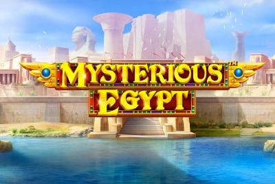Mysterious Egypt Mobile Slot Logo