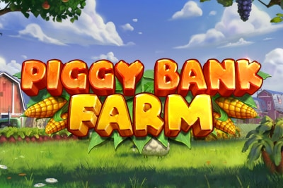 Piggy Bank Farm Mobile Slot Logo