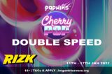 Get Double Speed Loyalty Points On CherryPop Slot at Rizk Casino