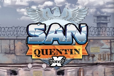 San Quentin Xways Mobile Slot Logo