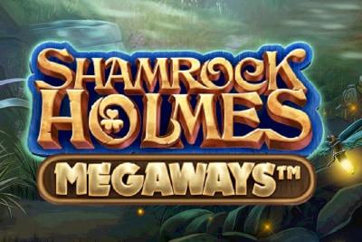 Shamrock Holmes Megaways Mobile Slot Logo
