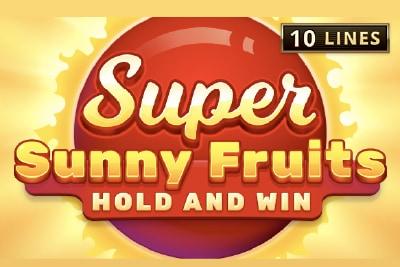 Super Sunny Mobile Slot Logo