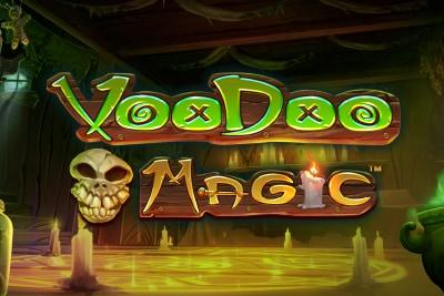 Voodoo Magic Mobile Slot Logo