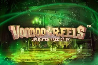 Voodoo Reels Mobile Slot Logo