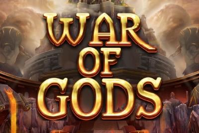 War of Gods Slot Logo