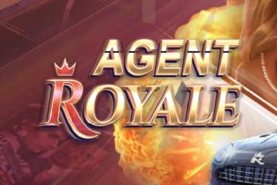 Agent Royale Mobile Slot Logo