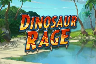 Dinosaur Rage Mobile Slot Logo