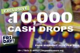 Win Real Cash In The Exclusive Casino Friday Casino Cash Drops