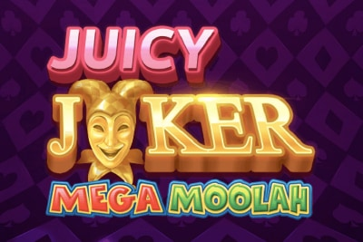 Juicy Joker Mega Moolah Mobile Slot Logo