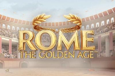 NetEnt Rome The Golden Age Mobile Slot Logo