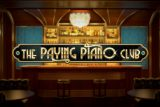 The Paying Piano Club Slot Logo