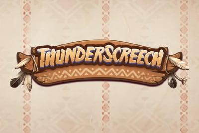 Thunder Screech Mobile Slot Logo