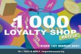 Vera&John Casino Bonus Raffle - Win €1,000