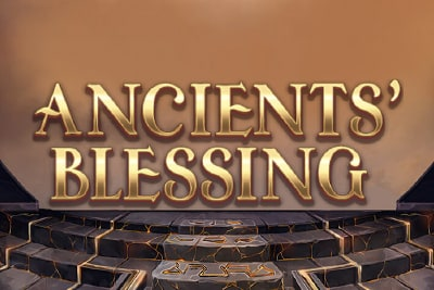 Ancients Blessing Mobile Slot Logo