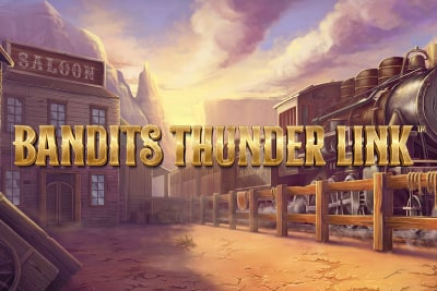 Bandits Thunder Link Slot Logo