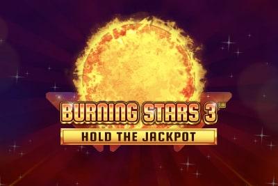 Burning Stars 3 Mobile Slot Logo