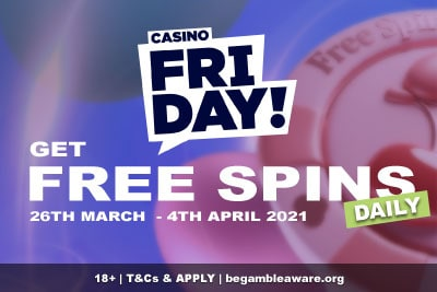 Get Your Casino Friday Free Spins Daily