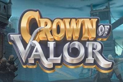 Crown of Valor Mobile Slot Logo