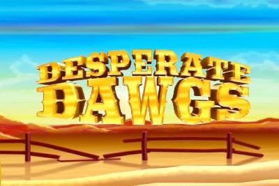 Desperate Dawgs Slot Logo