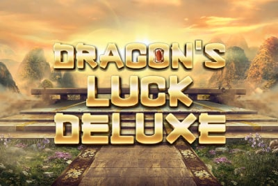 Dragons Luck Deluxe Slot Logo
