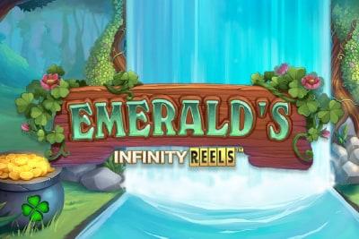 Emeralds Infinity Reels Slot Logo