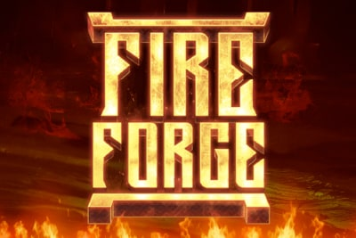 Fire Forge Slot Logo