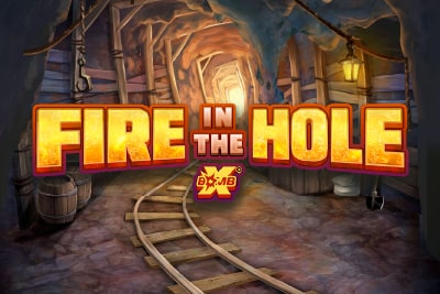 Fire In The Hole Slot Logo