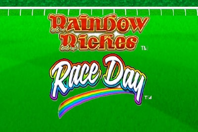 Rainbow Riches Race Day Slot Logo