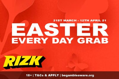 Get A New Rizk Casino Bonus Every Day This Easter
