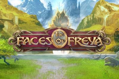 The Faces of Freya Slot Logo