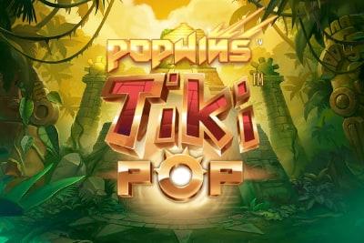 TikiPop Slot Logo