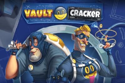 Vault Cracker Mobile Slot Logo