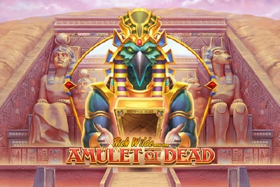 Amulet of Dead Slot Logo