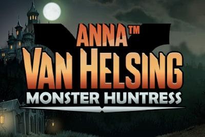 Anna Van Helsing Monster Huntress Slot Logo